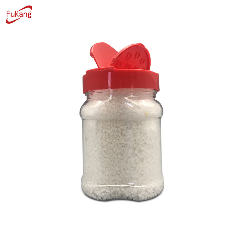 Custom plastic spice bottle container spice jars wholesale