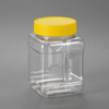 Free Samples PET Clear Spice Jars with Flip Top Lid Plastic Salt Shaker