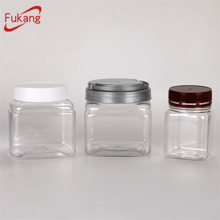 food storage 550ml clear rectangular plastic container and lid