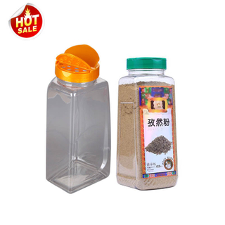 Plastic Bottles with Flip tops for Spices Powder 500grams