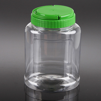 1200ml airtight plastic pickle jars, 1.2L clear food storage containers, empty plastic jars for dry seeds wholesale