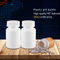 wholesale 225ml FDA approval Plastic Material HDPE white Pharmaceutical capsule tablet packaging containers