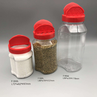 Wholesale 500 Gram Spice Pet Jar High Quality 15 Oz Plastic Spice Jars Container
